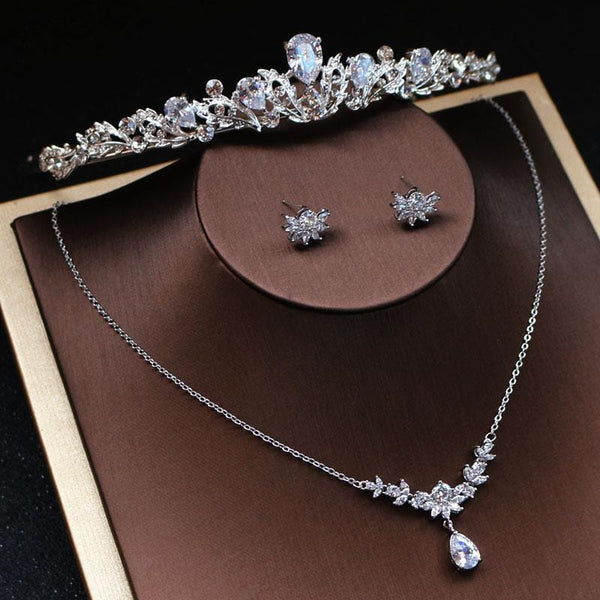 Silver Bridal Jewellery set