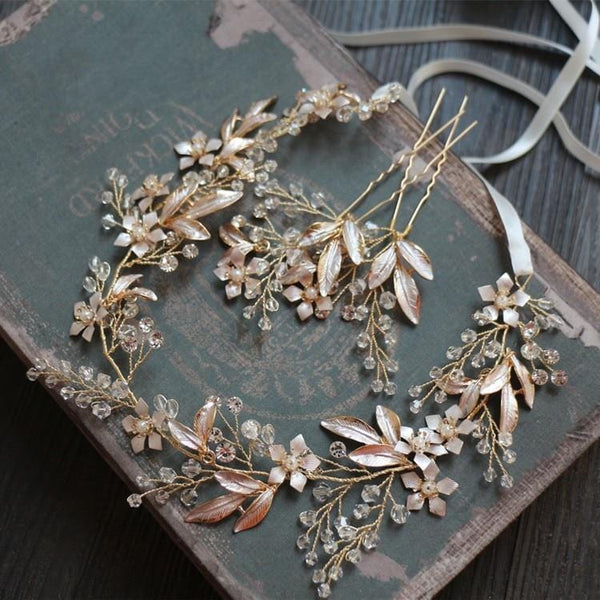 Florence Vintage Wedding Hair Vine