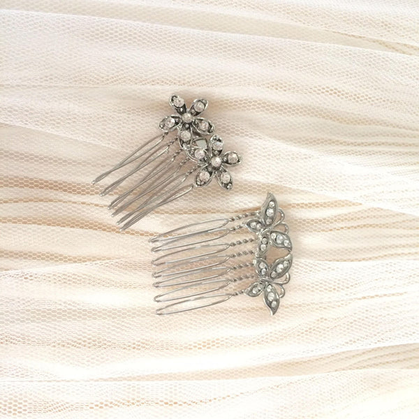 Butterfly Hair Combs (set of 2)