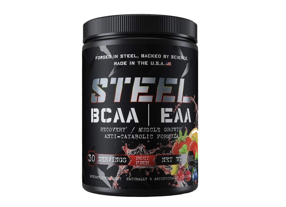 Steel Supplements, BCAAS|EAAS