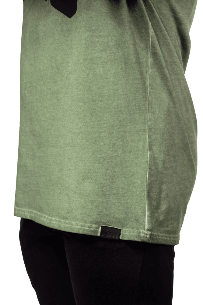 Oversized Warm-Up Tee