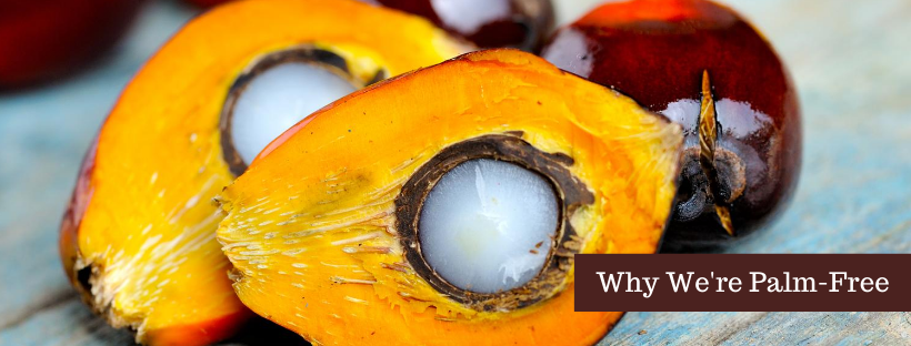 Why we don't use palm oil in our soap