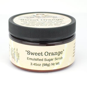 Sweet Orange - Emulsified Sugar Scrub Body Polish