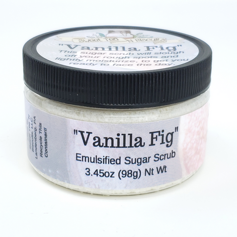 Vanilla Fig - Emulsified Sugar Scrub Body Polish