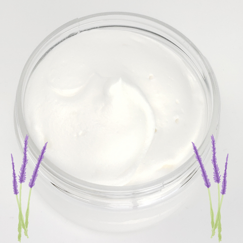Whipped Natural Body Butter - Lavender Essential Oil Scented