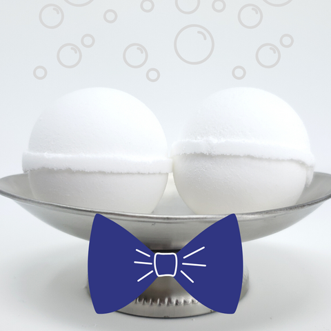 Bubble Bomb - Perfect Man Scented Bubble Bath Fizzies-Sweet Tea 'N Biscuits