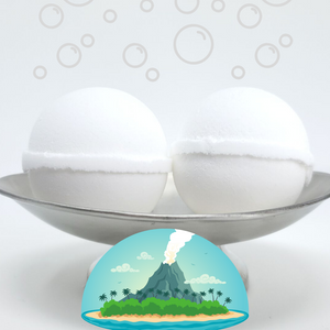 Bubble Bomb - Volcanic Scented Bubble Bath Fizzies-Sweet Tea 'N Biscuits