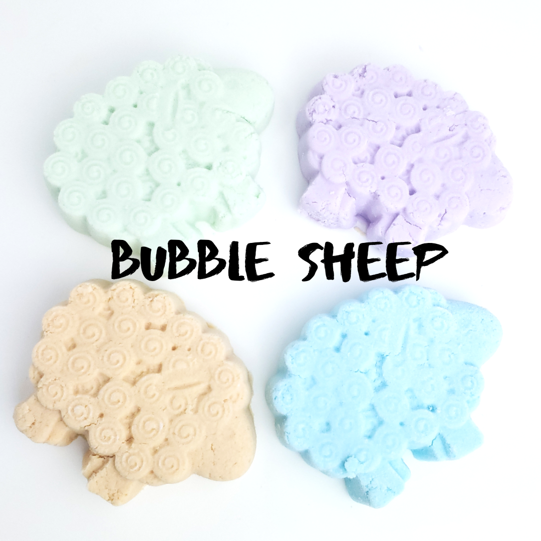 Citrus Blitz - Bubble Sheep - Solid Bubble Bath In Convenient Bars-Sweet Tea 'N Biscuits