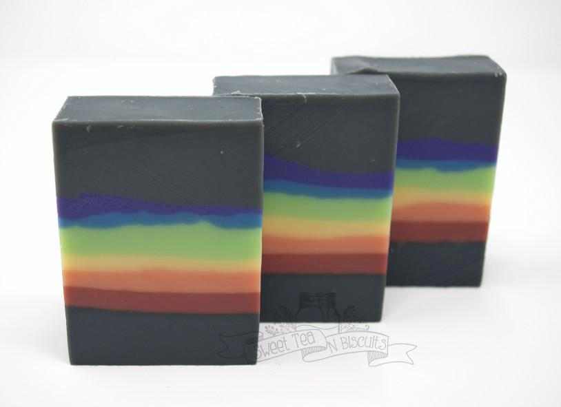 Dark Side - Patchouli Orange Scented Handmade Cold Process Soap-Sweet Tea 'N Biscuits