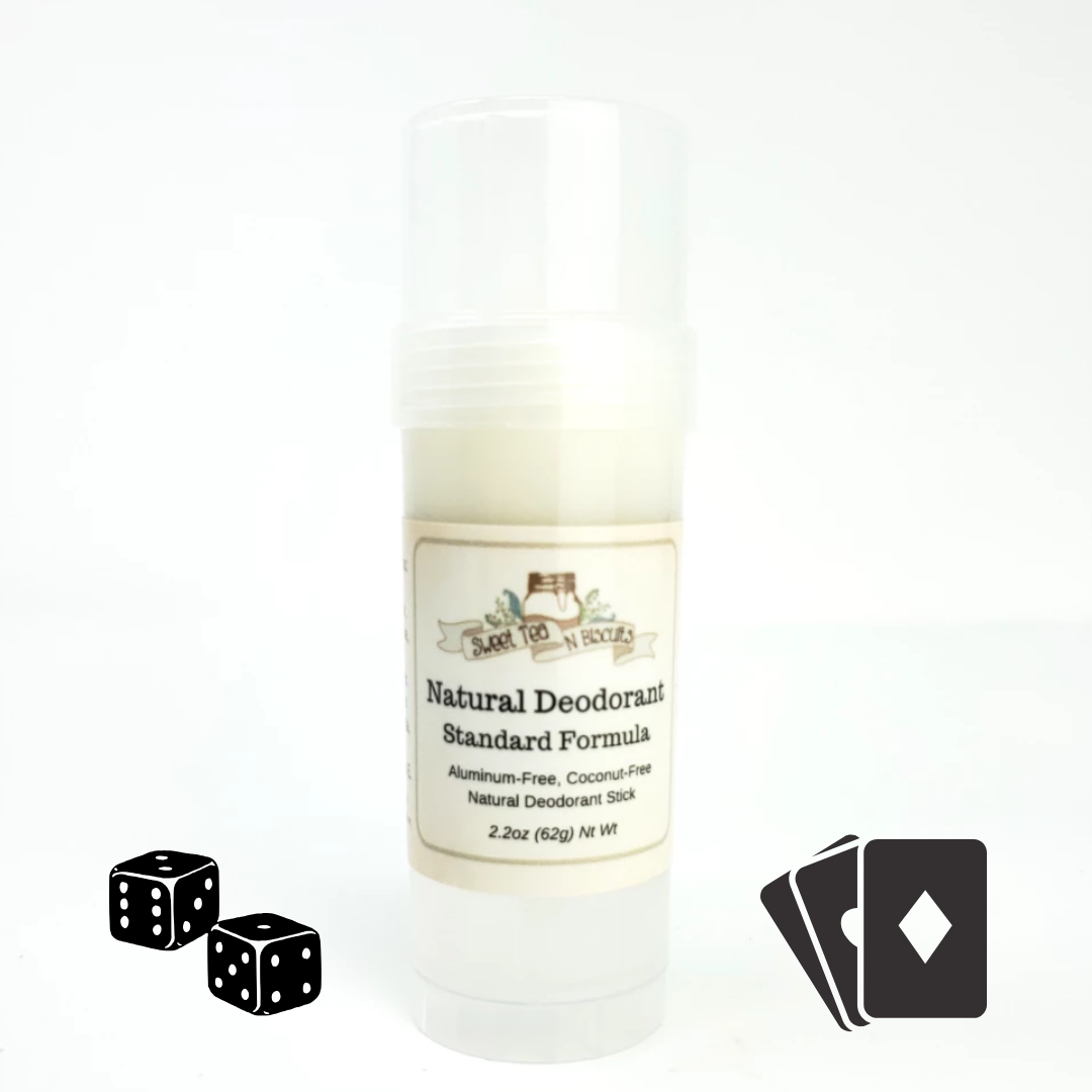 Gamblin' Man - Natural, Aluminum-Free Deodorant - Regular/Standard Formula-Sweet Tea 'N Biscuits