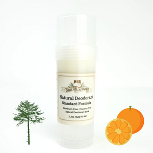 Lumberjack Morning - Natural, Aluminum-Free Deodorant - Regular/Standard Formula-Sweet Tea 'N Biscuits