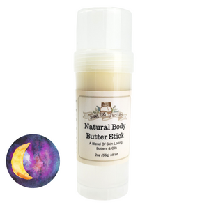 Natural Body Butter Stick - Karmic Essential Oil Scented-Sweet Tea 'N Biscuits