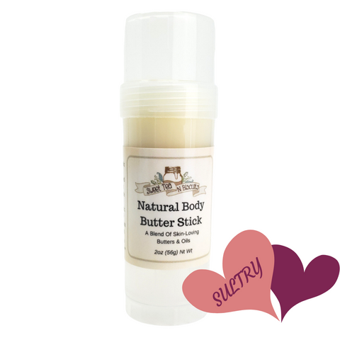 Natural Body Butter Stick - Sultry Scented-Sweet Tea 'N Biscuits