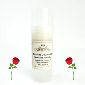 Sandalwood Rose - Natural, Aluminum-Free Deodorant - Regular/Standard Formula-Sweet Tea 'N Biscuits