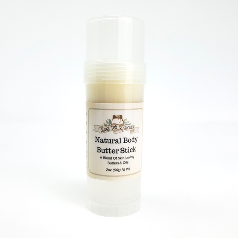 Scented Natural Body Butter Sticks - Made With Organic & Fair Trade Oils-Sweet Tea 'N Biscuits