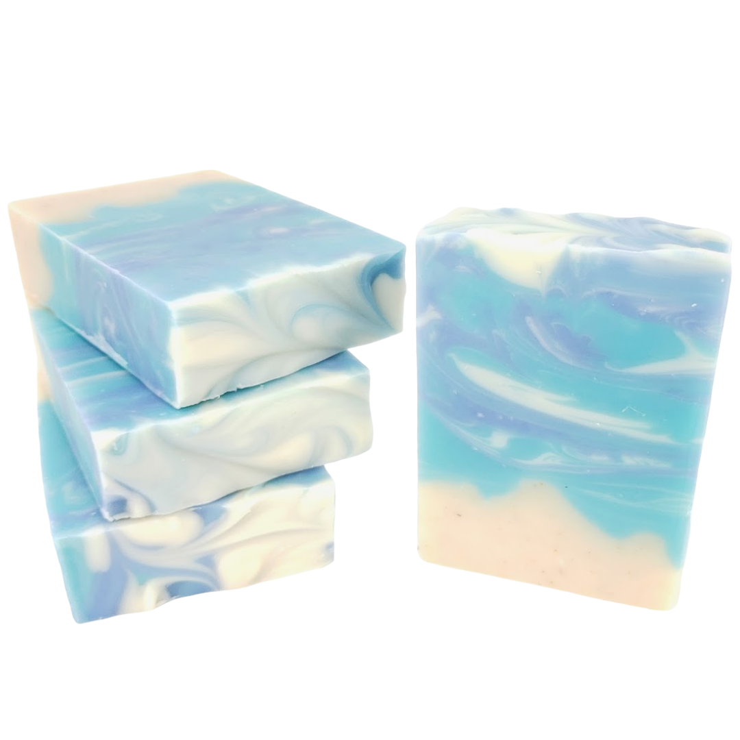 Sea Spray - Handmade Ocean Themed Cold Process Soap Bar-Sweet Tea 'N Biscuits