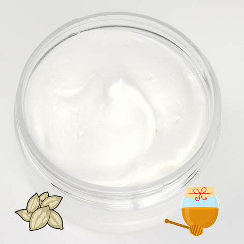 Whipped Natural Body Butter - Honey Almond Scented-Sweet Tea 'N Biscuits