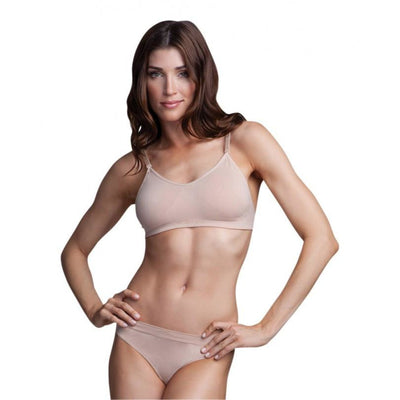 Adult Seamless Clear Back Bra