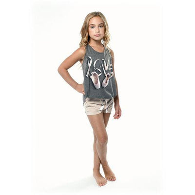 "Child ""Love Pointe Shoes"" Freestyle Tank"