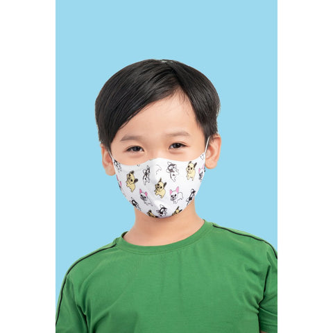 Child B-Safe Print Face Masks w/Lanyard