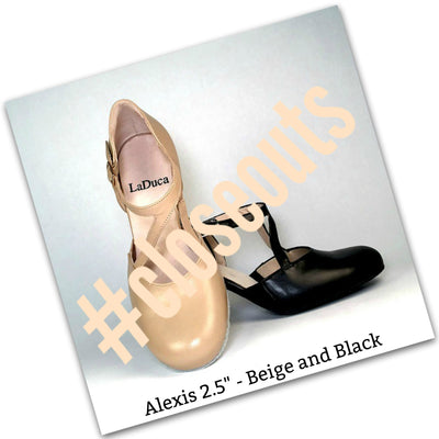 "Close-Out - 25% off - Adult Professional Character Shoes - Alexis 2.5"" and Teresa 2.5"""