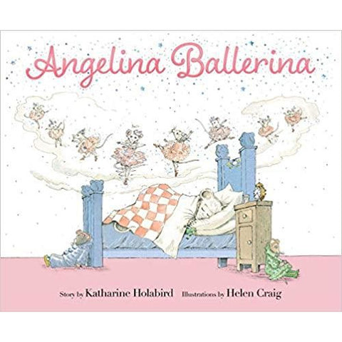 """Angelina Ballerina"" Hardcover Book"