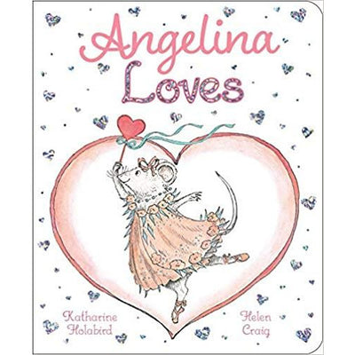 """Angelina Loves"" Board Book"