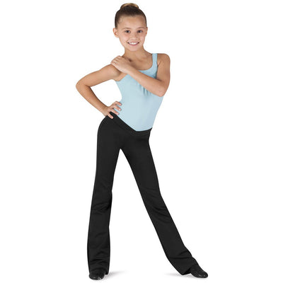 Child Microlux V-Waist Jazz Pants