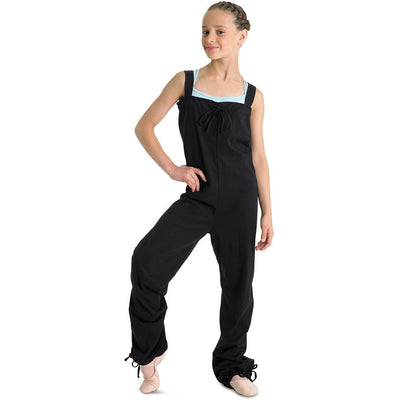 Child Warm Up Jumpsuit