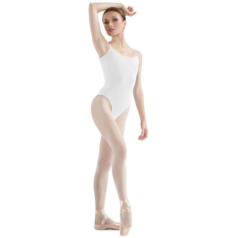 Adult Basic V-Back Camisole Leotard