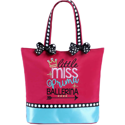 Little Miss Prima Ballerina Tote