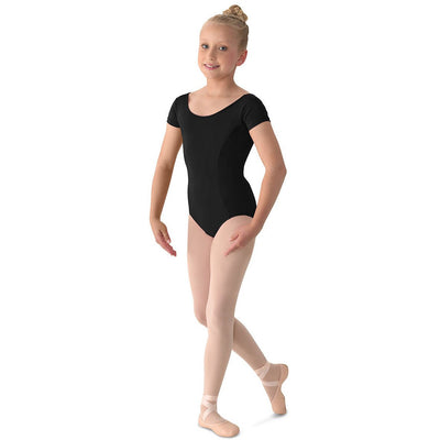 Child Basic Cap Sleeve Leotard