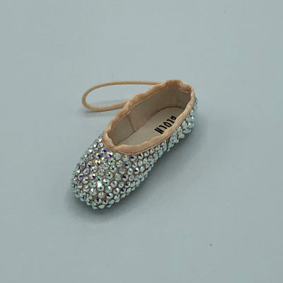 Crystal Miniature Pointe Shoe