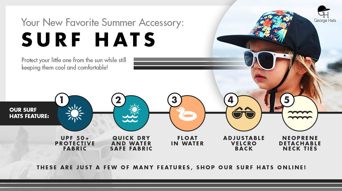 surf hat infographic