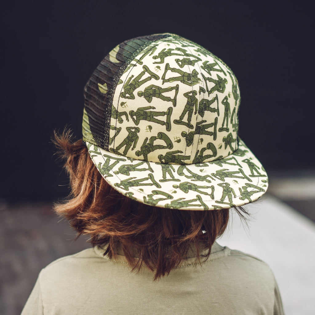 Army Camo Mesh Trucker - George Hats