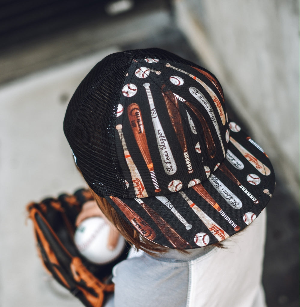 Baseball Bat Trucker - George Hats