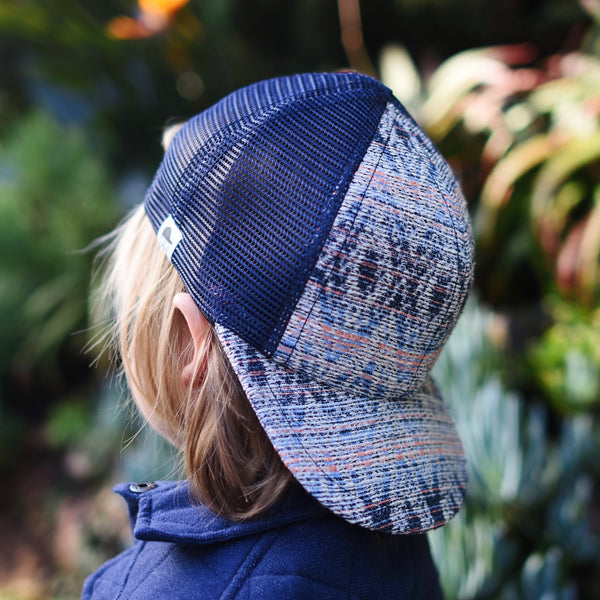 Blue Serape Trucker - George Hats