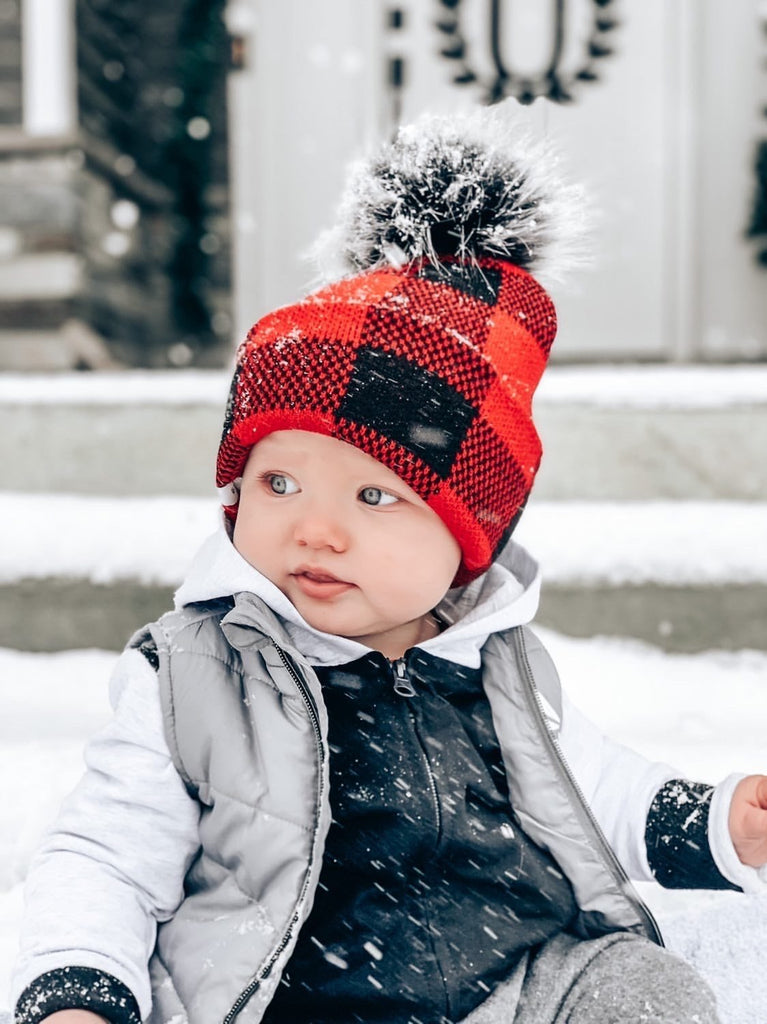 Buffalo Plaid Beanie - George Hats