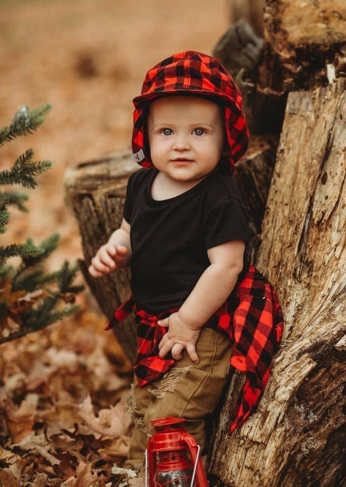 Buffalo Plaid Flannel Hat - George Hats