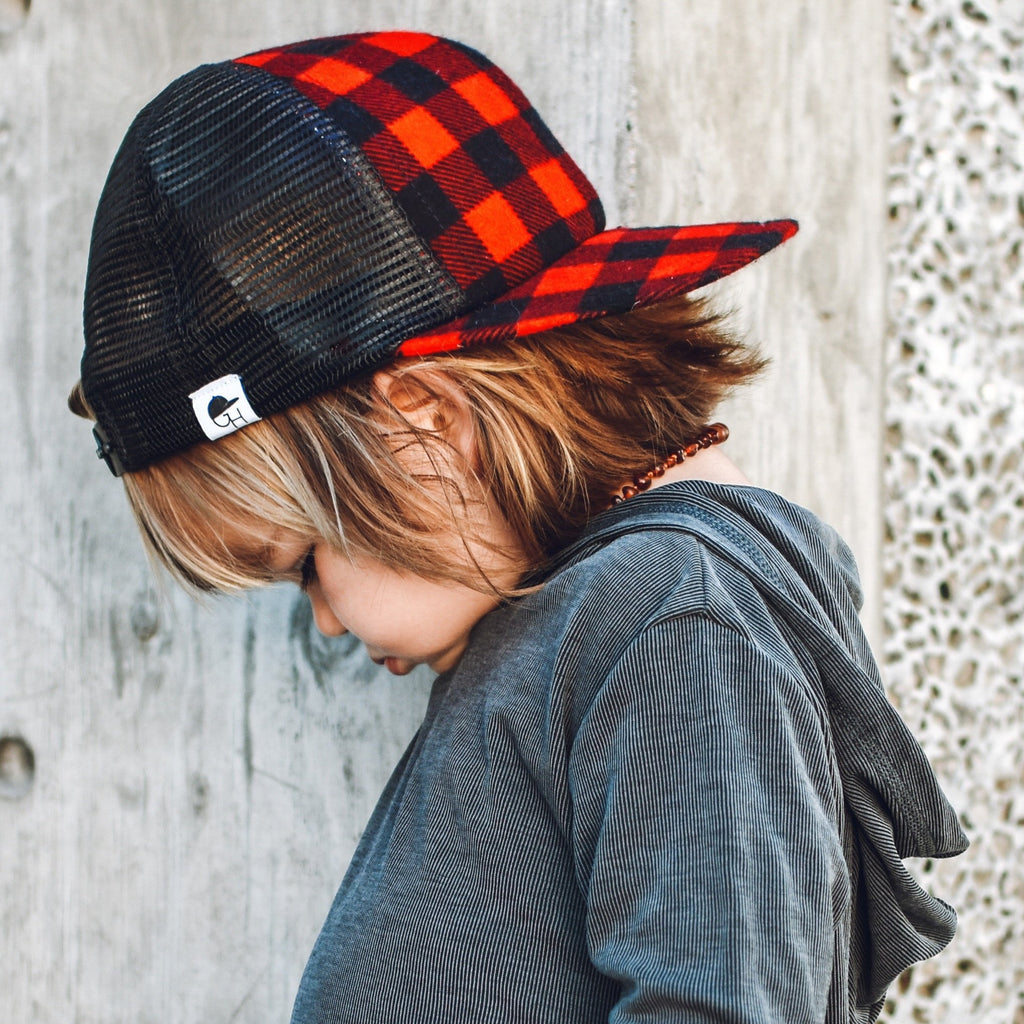 Buffalo Plaid Trucker - George Hats