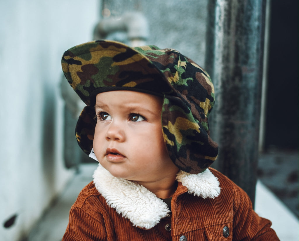 Camo Flannel Hat - George Hats