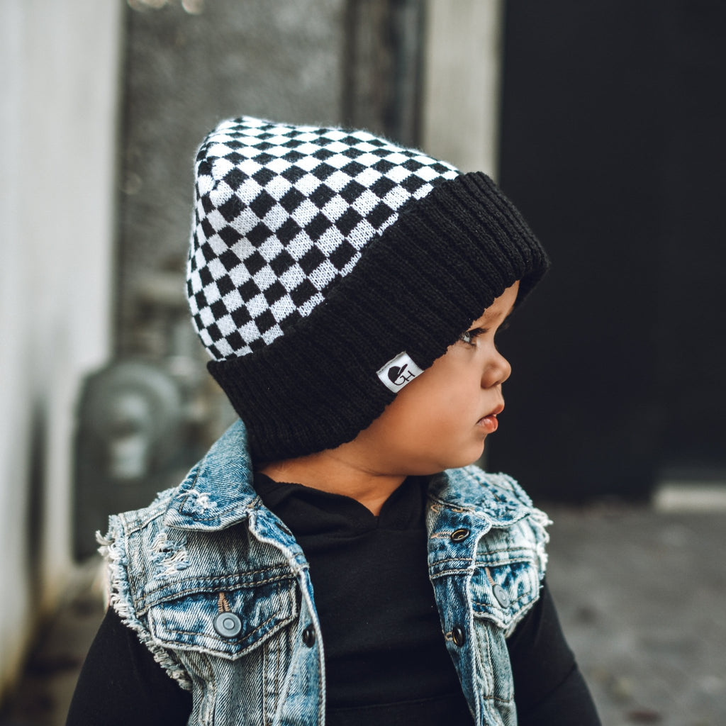 Check Beanie - George Hats