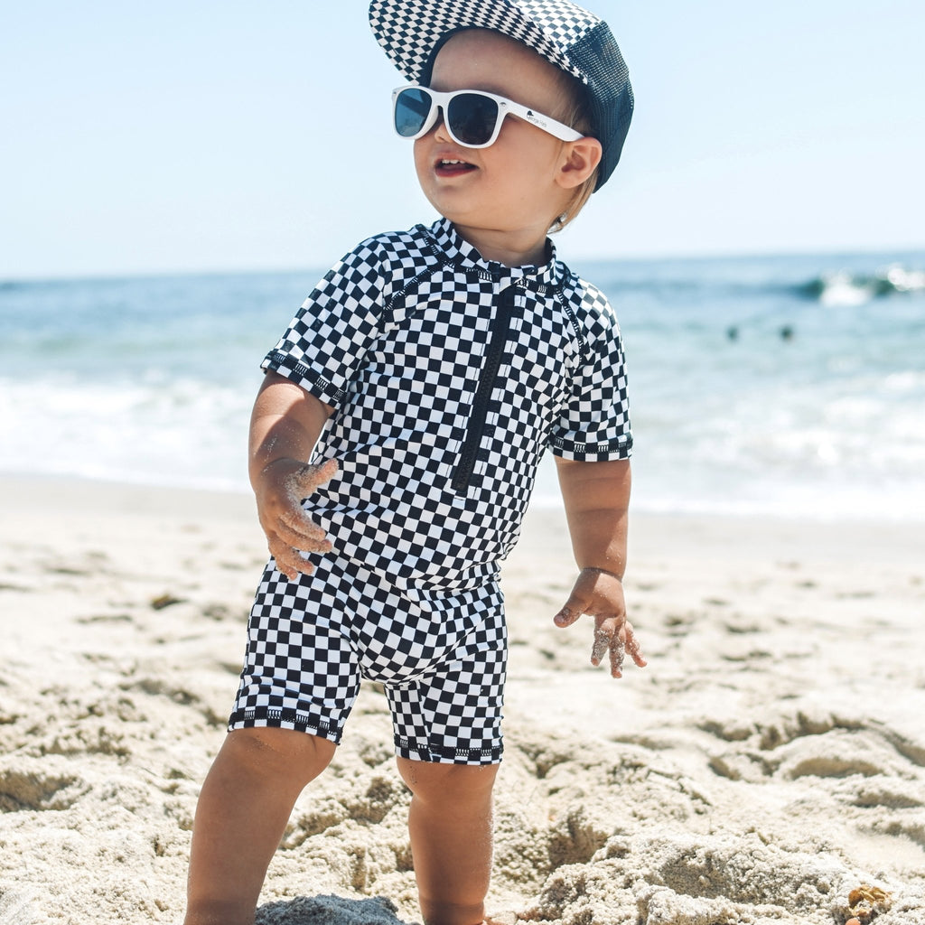 Check Sun and Swim Suit - George Hats