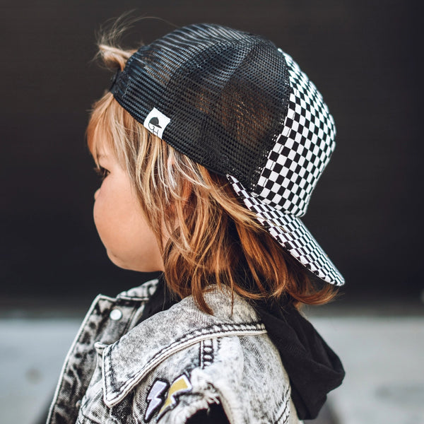Checkered Trucker - George Hats