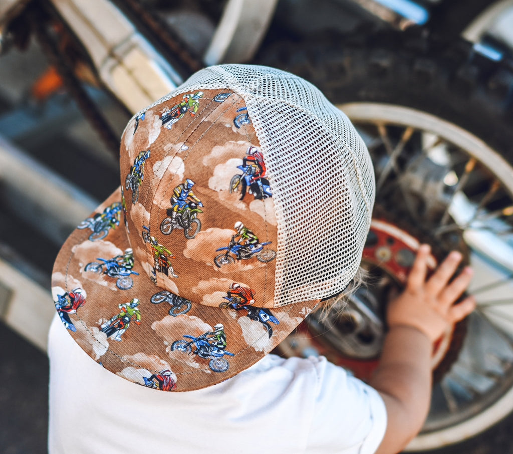 Dirt Bike Trucker - George Hats