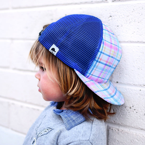 Easter Plaid Trucker - George Hats