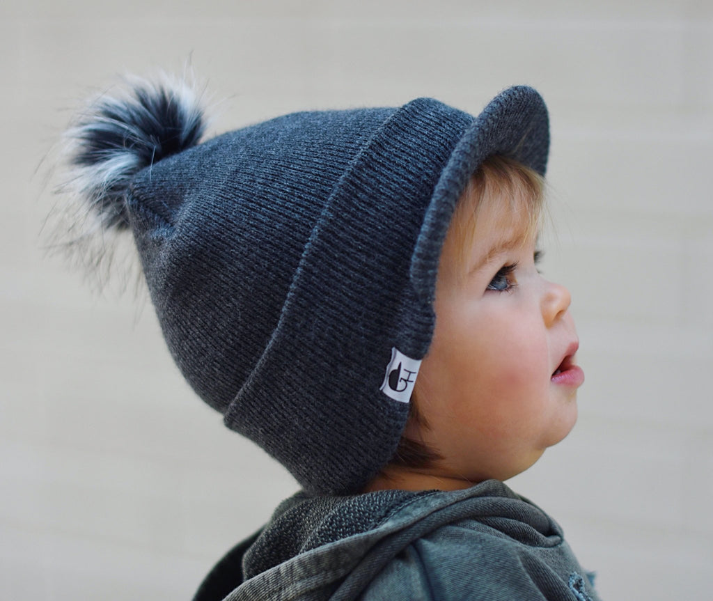 Toddler Pom Beanie - George Hats