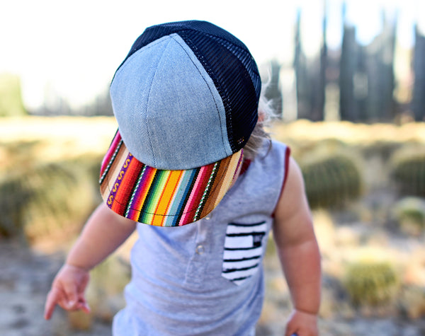 Colorful Serape Trucker