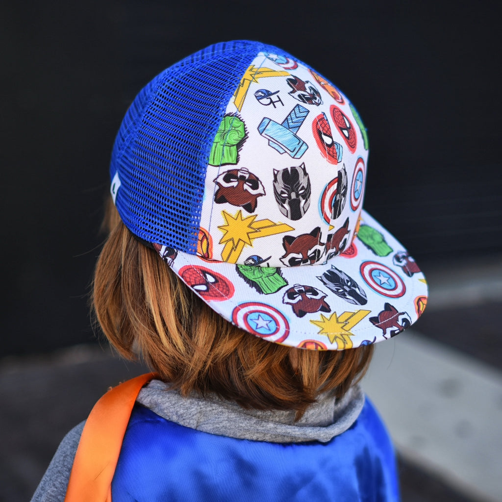 Marvelous Heroes Trucker - George Hats