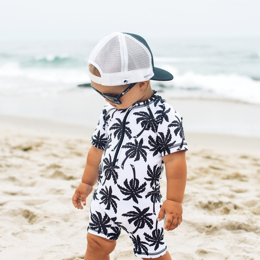 Palm Sun and Swim Suit - George Hats